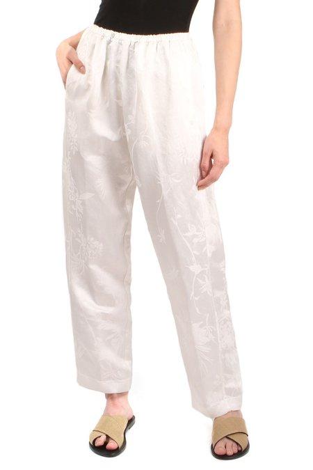Forte Forte Bouganvilla Linen Pants - White