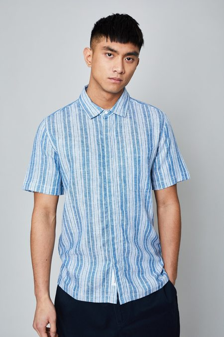 Native Youth THE TRUDEAU SHIRT - Blue