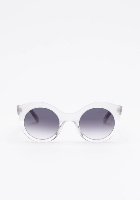 Prism Savannah Sunglasses - White Clear/Matte