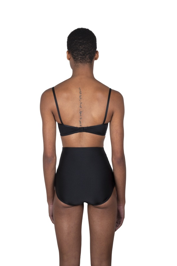 Minnow Bathers Forest Top - Black