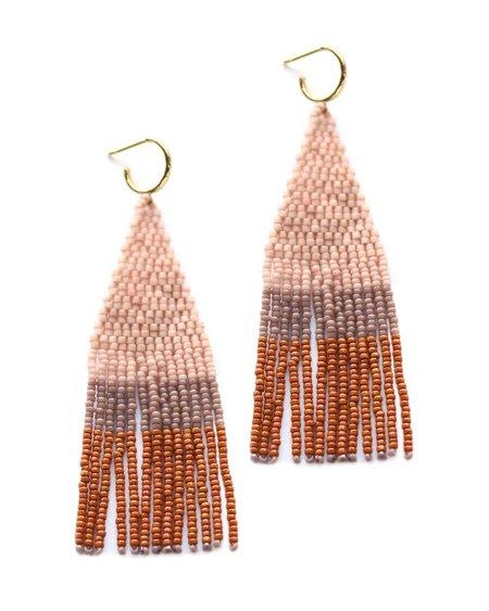 Bluma Project Franja Earring - Pink