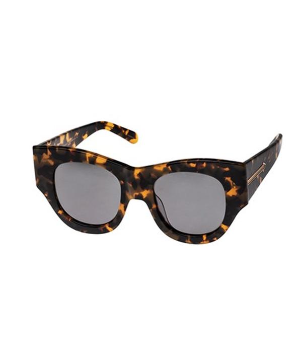 Karen Walker Faithful Crazy Tortoise Sunglasses