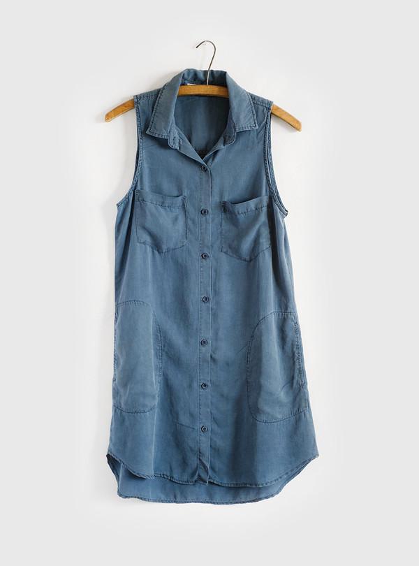 Bella Dahl Easy Pocket Dress