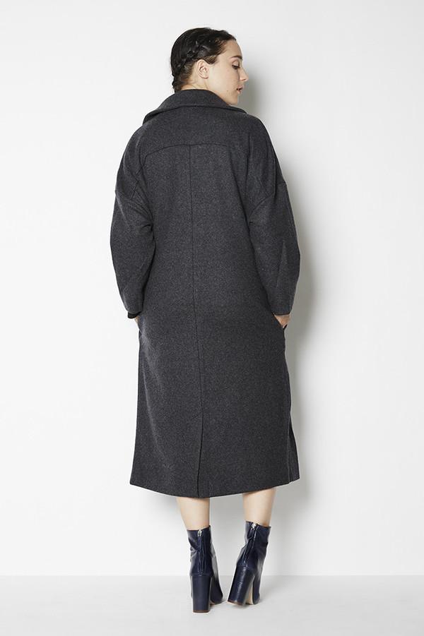 Achro Dropped Shoulder Coat