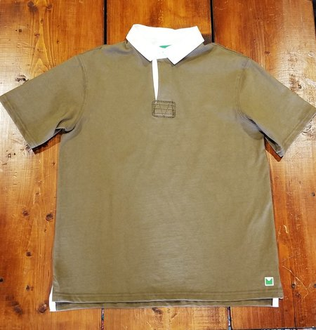 MAGILL The Martin Short Sleeve Rugby POLO - Olive