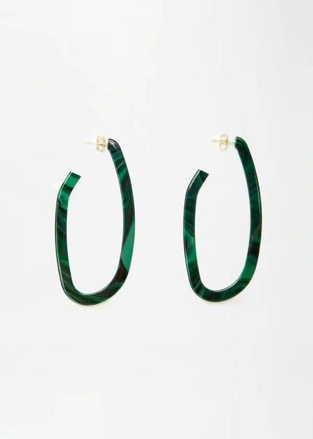 Rachel Comey Maya Earrings - Malachite