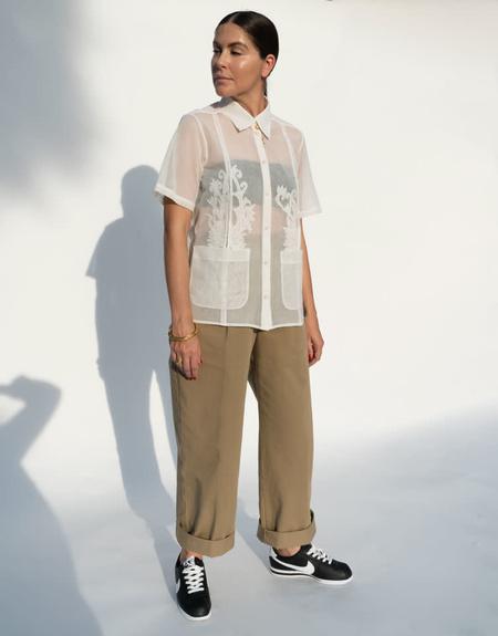 Rachel Comey Chaca Top - Off White