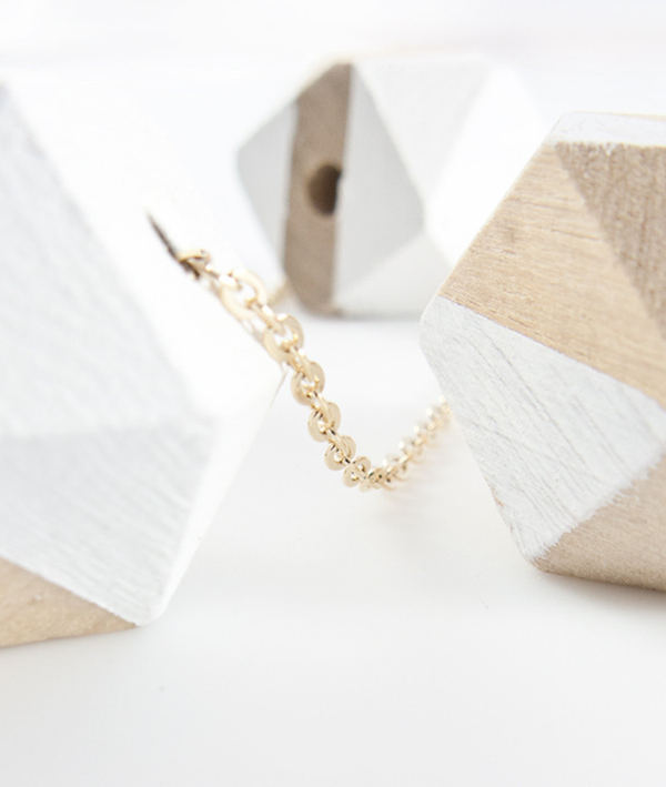 Baleen Wooden Bead Necklace