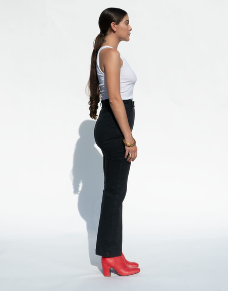 Rachel Comey Bismark Jean - Washed Black