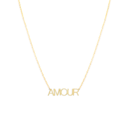 Clare V. Maya Brenner Necklace - Amour