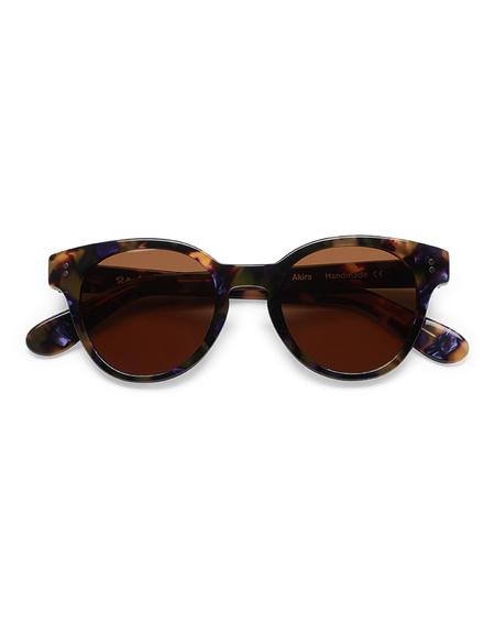 Sun Buddies Akira Sunglasses - Purple Blonde Tortoise