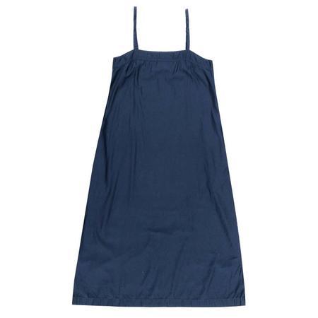 ali golden SQUARE DRESS - BLUE