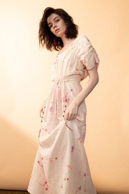 Arteaga Portia Handpainted Dress - Kahlo Wash