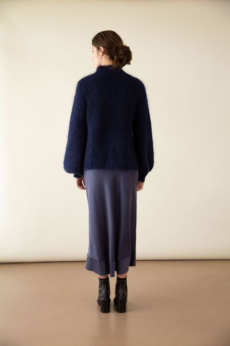 Before March England Skirt -  Navy