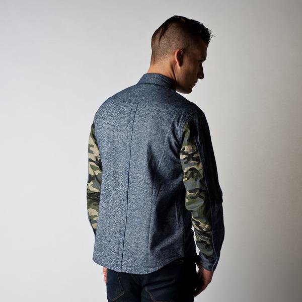 Men's Wolf & Man Hunter Shirt