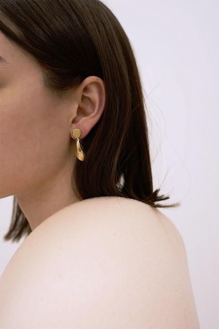 Anne Thomas Mediterranean Earrings - 18k Gold