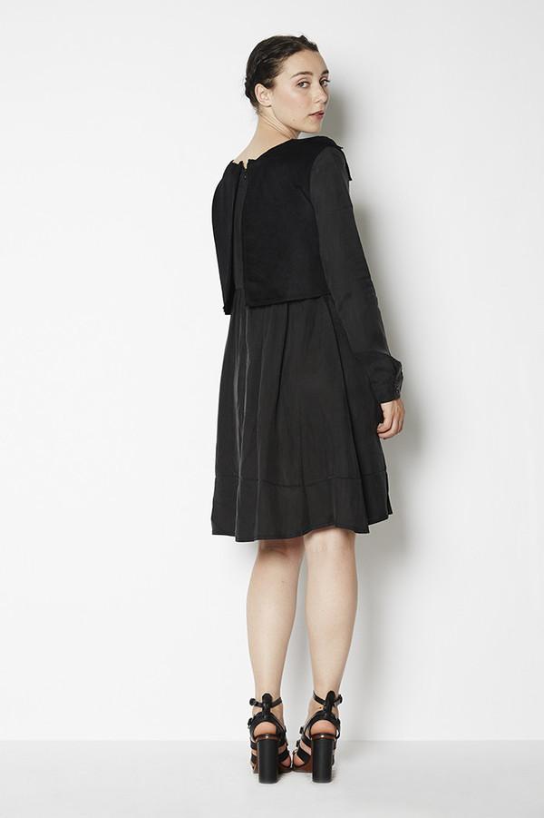 7115 by Szeki Wool Vest Dress