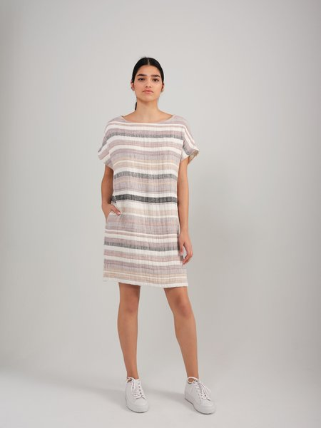 Odeyalo MANEKI dress - Stripes