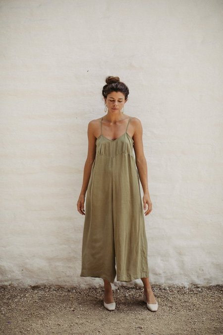 Ozma Ingrid Jumpsuit - Avocado