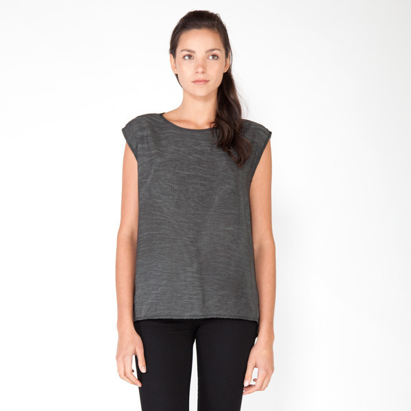Parachute Scoop Neck Top