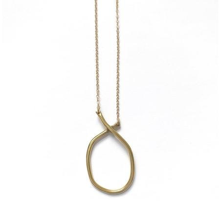 Goldluxe Jewelry Large Odyssey Necklace - Brass