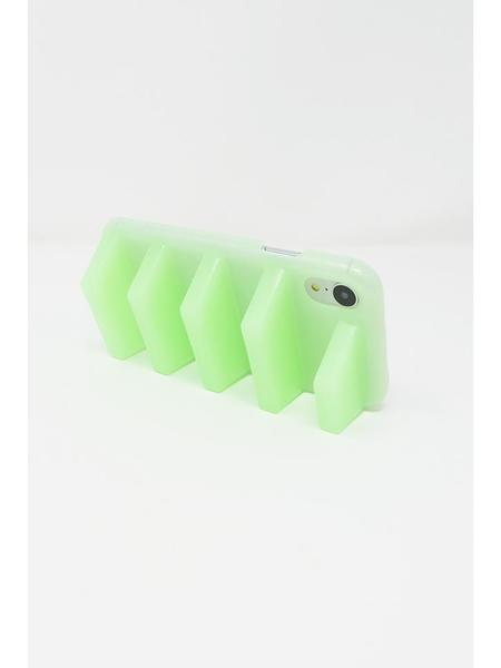 Kame Geta iPhone XR Case - Translucent Mint