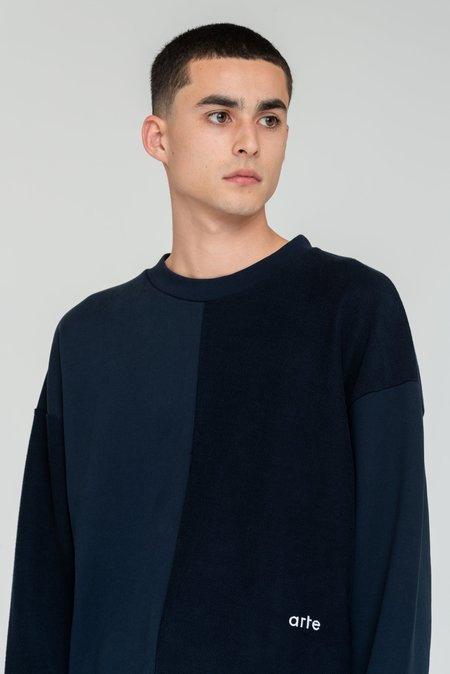 Arte Antwerp Clay Sweatshirt - Navy
