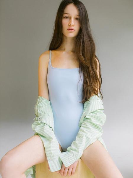 Nu Swim Noodle Suit - Baby Blue
