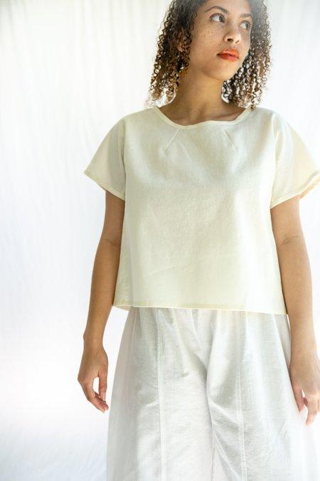 Tsuyumi cotton/linen top
