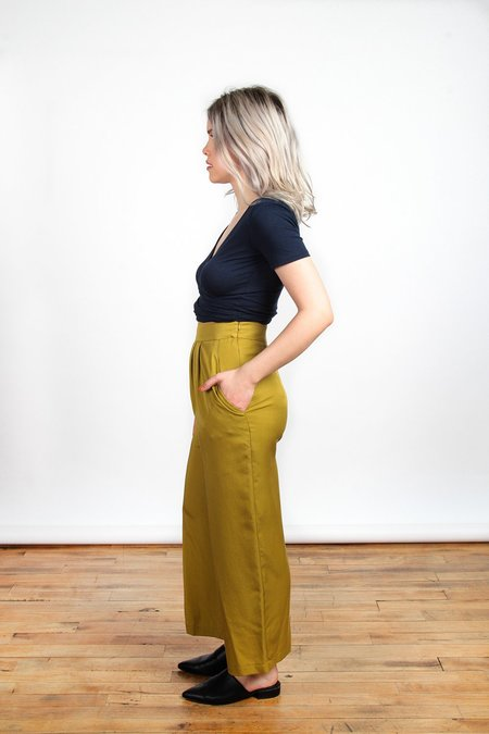 Eve Gravel Morocco Pants - Green