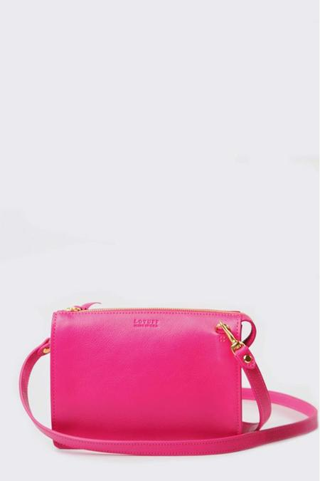 Lotuff Leather The Tripp Bag - Fuchsia