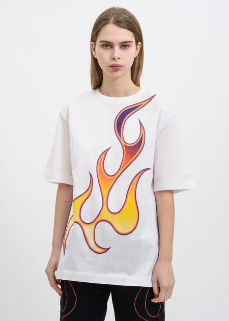 Études Studio Unity Flaming T-Shirt - White