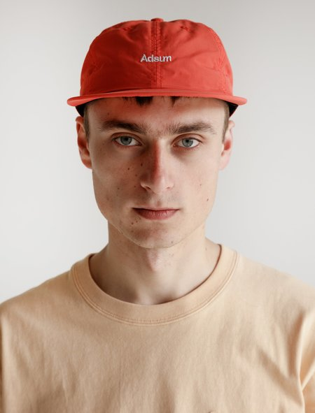 Adsum Snapback Logo Hat - Orange