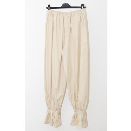 Baserange Suzanne Raw Silk Pants - Off white