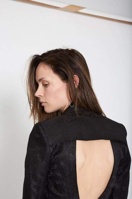 Isabel Benenato Jacquard Jacket