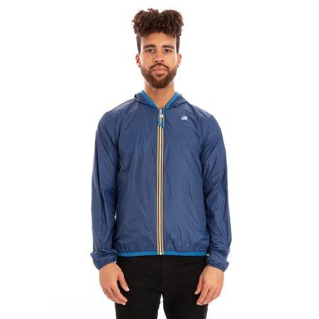 K-Way Jacques Reversible Plus Double Full Zip Jacket - Blue/Blue