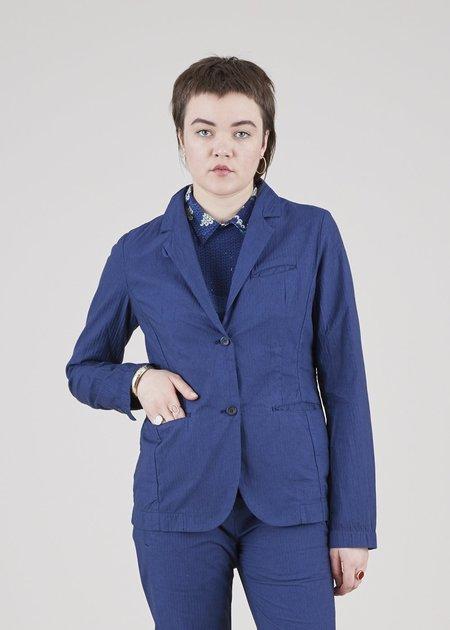 Hannes Roether Jazzy Pinstripe Jacket - dark blue