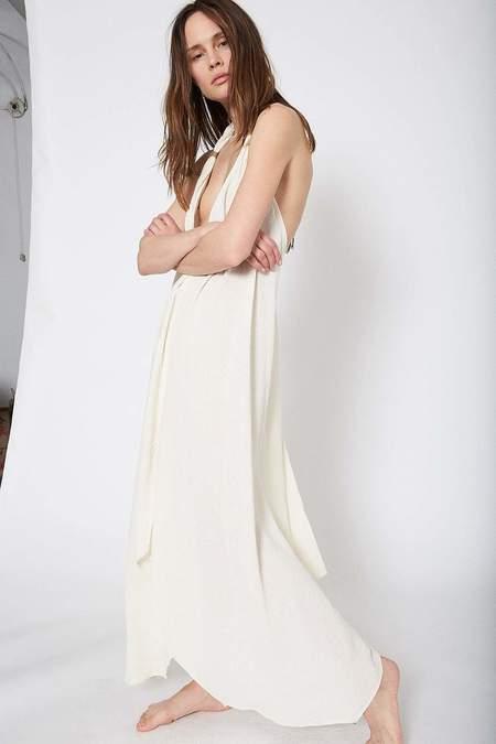 Caravana Uulab Halter Neck Cotton Dress