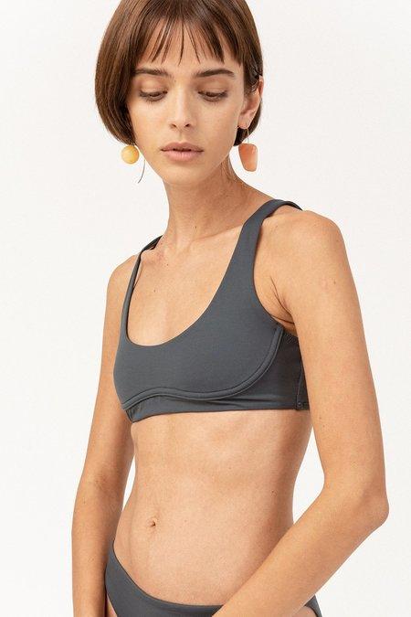 Skin The Jordan Bikini Top - Slate