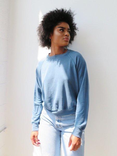 BackBeatRags Tencel Sweatshirt - Ocean