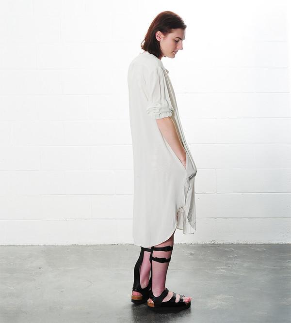 Raquel Allegra Henley Dress