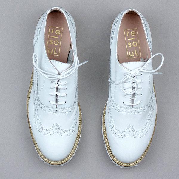 re-souL Leslie II - White