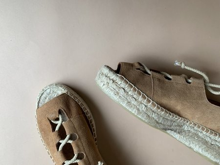 myths of creation Laceup Espadrille