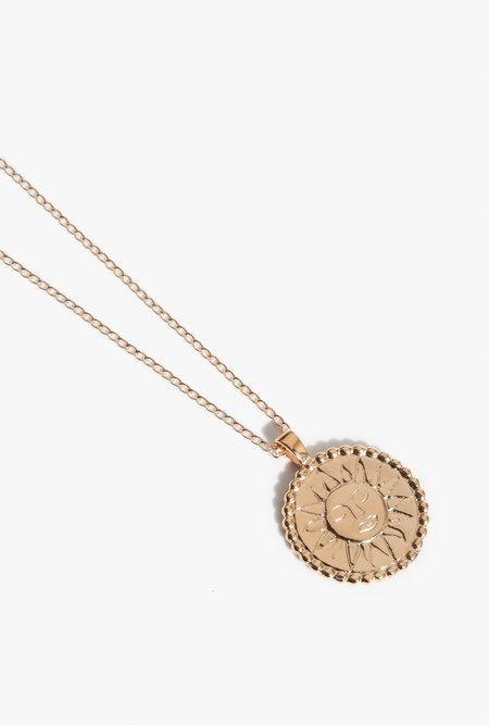 Wolf Circus Lumen Necklace - 14k gold plated