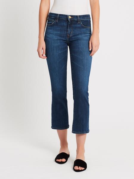 J Brand Selena Mid Crop Boot Jean - Arcade