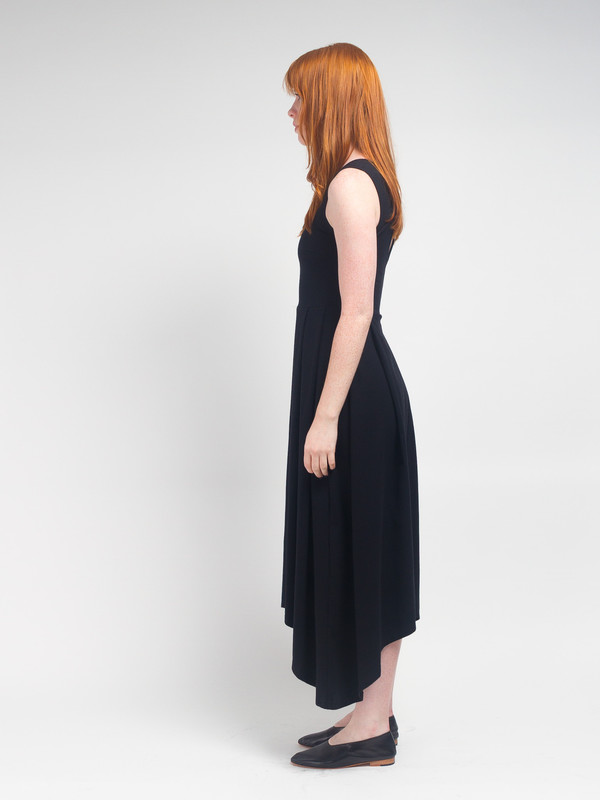 R/H Magic Long Dress Black
