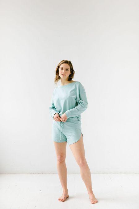 Salua Atelier Lingerie Ribbed Pullover