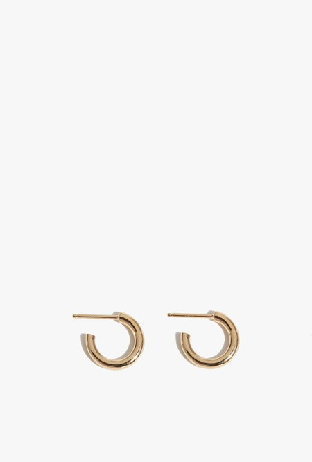 Wolf Circus Gia Hoops Earrings - 14k gold plated bronze