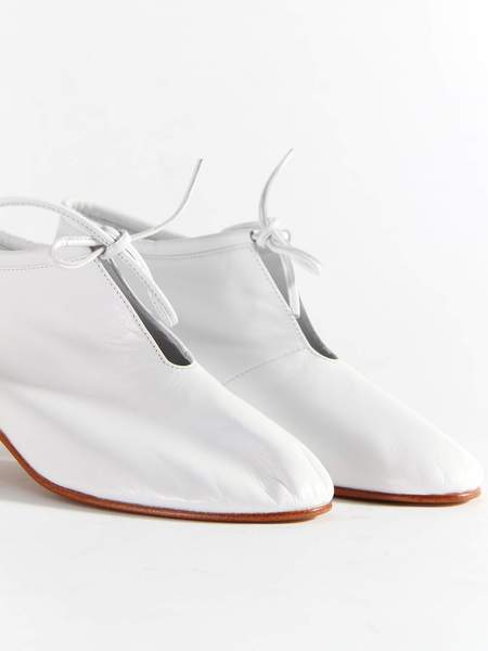 Martiniano High Bootie - White