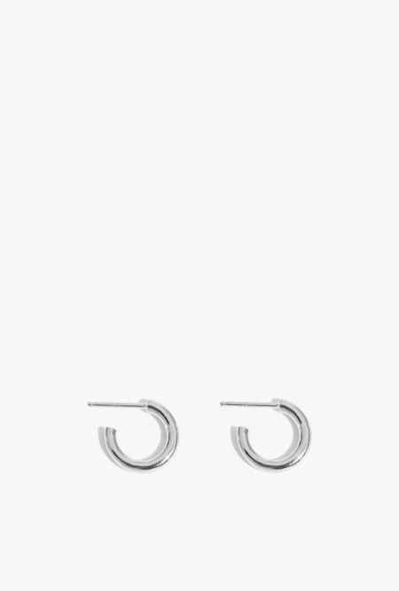 Wolf Circus Gia Baby Hoops Earrings - Sterling silver